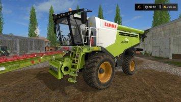 Claas Lexion 780 + Headers