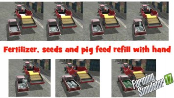 Fertilizer, seeds and pig feed refill with hand v1.1