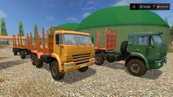 KamAZ 43118-44108 Timber