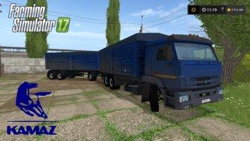 Kamaz 65221 + Trailer FS17