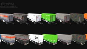 Krone Jumbo ADP 27 3-Achs Ballenwagen v1.01 FS17