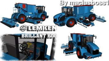 Lemken Brillant 600 (3D model) by maciusboss1/Burner FS17