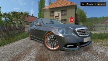 Mercedes-Benz E350 Black
