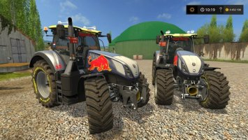 New Holland T7 Red Rikie FS17