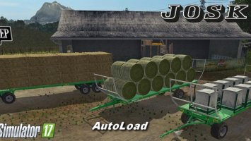Pack Joskin Wago BaleTrailer AUTOLOAD v1.0.3 FS17
