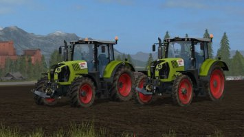 Claas Arion Series FS17