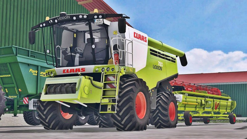Claas Lexion 780 Full Washable FS17