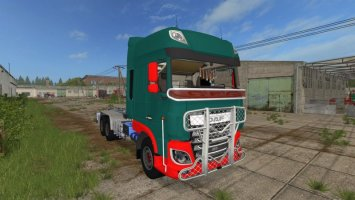 Daf XF IT Runner 3 axis.V 1.0