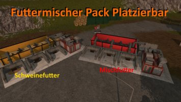 Feed mixer Pack Placeable