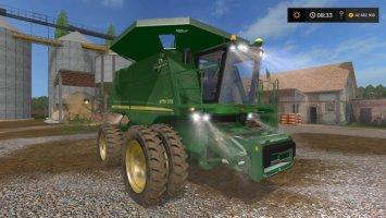 John Deere 9770 no Headers v1.0.1 FS17