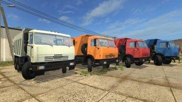 Kamaz 65115 Wheel selection v2.0