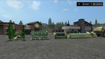 Krone BiGX implements v1.1.0.1 fs17