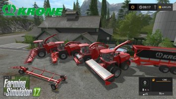 Krone Pack by Stevie FS17