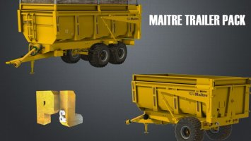Maitre trailer pack v1.1 FS17