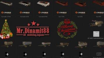 Mr.Dinamit88 Christmas Pack FS17