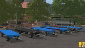 Robust BaleTrailer Pack AutoLoading FS17
