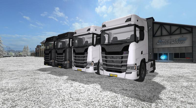 Scania S580 V8 Streamline Mod Mod For Farming