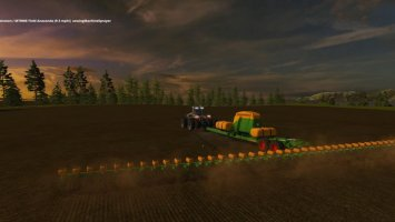Amazone 48 Row Seeder FS17