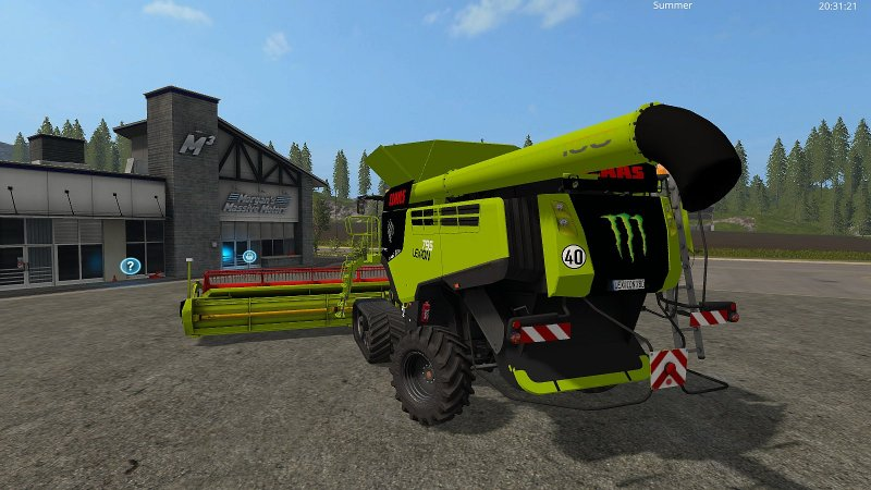 claas lexion 795 fs17 mod mod for farming simulator 17 ls portal. Black Bedroom Furniture Sets. Home Design Ideas