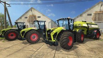 Claas Xerion 4000/4500/5000 Pack FS17