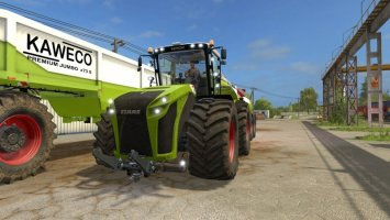 CLAAS Xerion 5000 gold edition v1.1 FS17