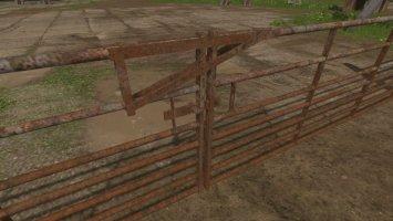 Concrete/Rust Gates and Fences FS17
