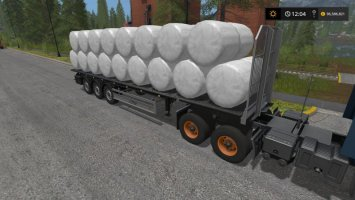 Fliegl Flatbed Autoload v3 FS17