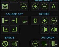 GPS HUD  Farming Sim 17 Skin FS17
