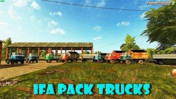 IFA Pack Trucks