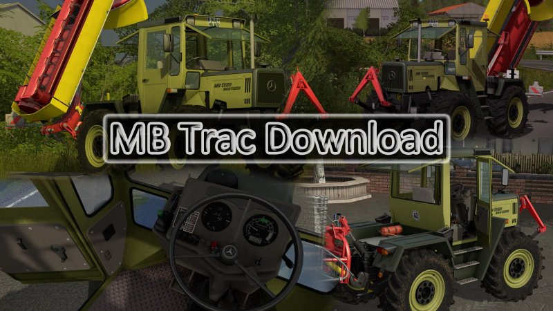 MB Trac 900 Turbo FS17