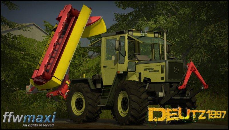 MB Trac 900 Turbo - FS17 Mod | Mod for Farming Simulator 17 | LS Portal