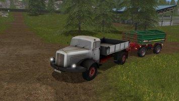 Mercedes Flatbed 334K