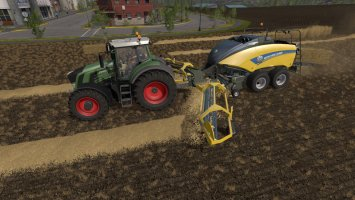 New Holland BB1290 + Nadal R90