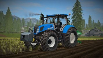 New Holland T7240 FS17