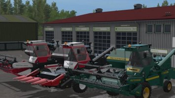 Rostselmash Niva Effect Set FS17