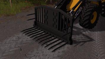 Silage Fork for wheel loaders FS17