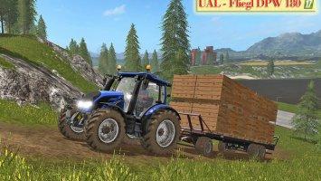 UAL Fliegl DPW 180 / Bretter-Paletten v1.1 FS17