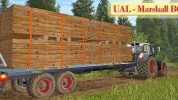 UAL Marshall BC/32 - Bretter-Paletten v1.1 FS17