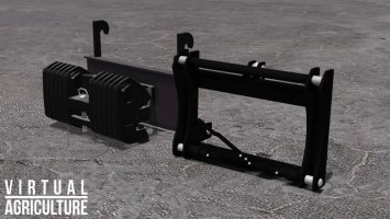 Weight and 3pt-Adapter FS17