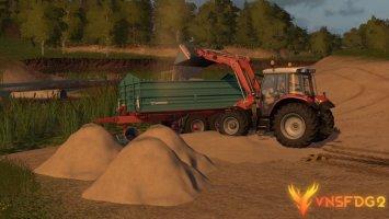 Added dirt and sand v1.1 Beta FS17