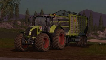 CLAAS Axion 900 v1.2 fs17