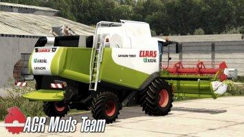 Claas Lexion 550 Beta FS17