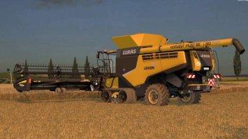 CLAAS Lexion 780 TT USA Edition (SKINPACK)