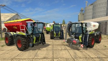CLAAS Xerion 4000 ST Pack FS17