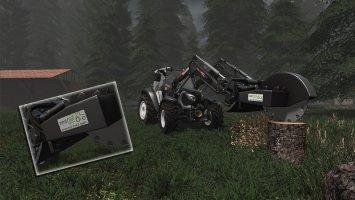 Frontloader Stump Cutter FS17