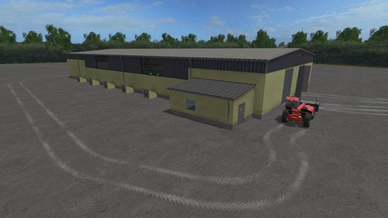 ddr getreidelager mit beleuchtung mod mod for landwirtschafts simulator 17 ls portal. Black Bedroom Furniture Sets. Home Design Ideas