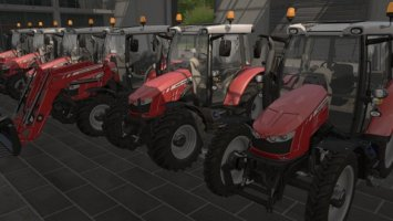 Massey Ferguson 5600 with Frontloader FS17