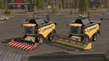 New Holland CX 8000 FS17