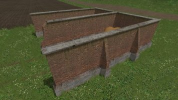 Old Style Brick Storage Bunkers FS17