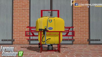 Sprayer Biardzki Yellow FS17
